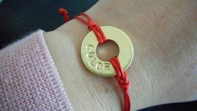My Intent bracelet at WeAllGrow Summit 2016 on Underground Crafter