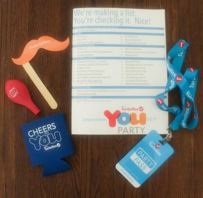 Turbo Tax YOU Party kit from WeAllGrow Summit 2016 on Underground Crafter