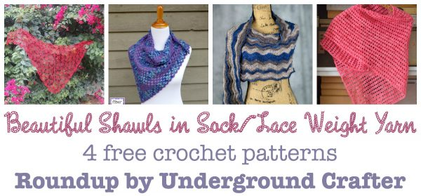 4 Tips for Crocheting with Thin Yarns and Threads with free crochet pattern roundup on Underground Crafter