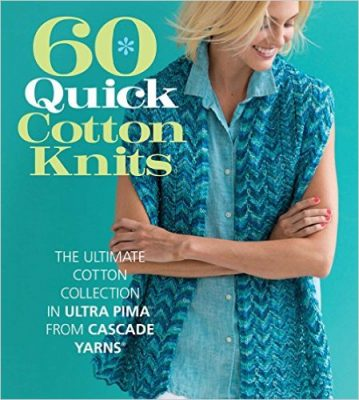 Join the Knitting Love Link Party 9 (June, 2016) with Jessie At Home and Underground Crafter for your chance to win 60 Quick Cotton Knits, courtesy of Sixth & Spring Books