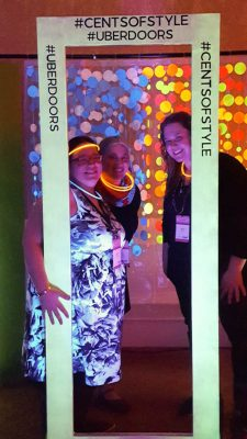 Jessie from Jessie At Home, me, and Tamara from Moogly at the Uber Doors/Cents of Style Party. Photo via Jessie At Home | Snap! conference 2016 wrap up on Underground Crafter