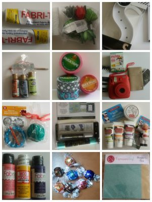 A selection of product samples | Snap! conference 2016 wrap up on Underground Crafter