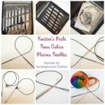 Knitter's Pride Nova Cubics Platina Interchangeable Knitting Needles review by Underground Crafter