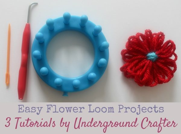 Easy Flower Loom Projects: 3 Tutorials by Underground Crafter