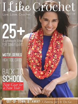 I Like Crochet August 2016 issue