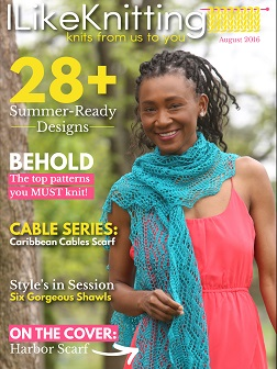 I Like Knitting August 2016 issue