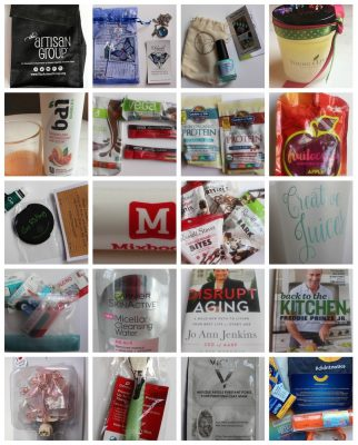 #BlogHer16 recap on Underground Crafter - Collage of promo items