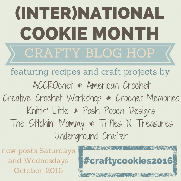 (Inter)National Cookie Month Crafty Blog Hop! 9 recipes and 9 craft tutorials!
