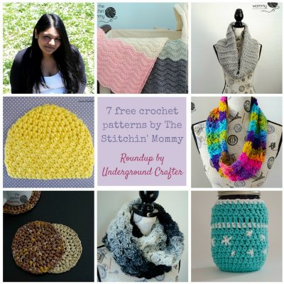 An Instagram takeover free crochet pattern roundup featuring The Stitchin' Mommy on Underground Crafter