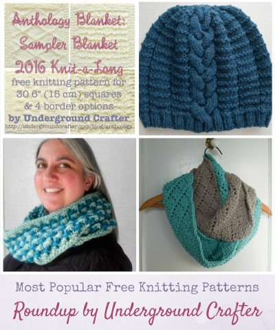 4 Most Popular Free Knitting Patterns via Underground Crafter
