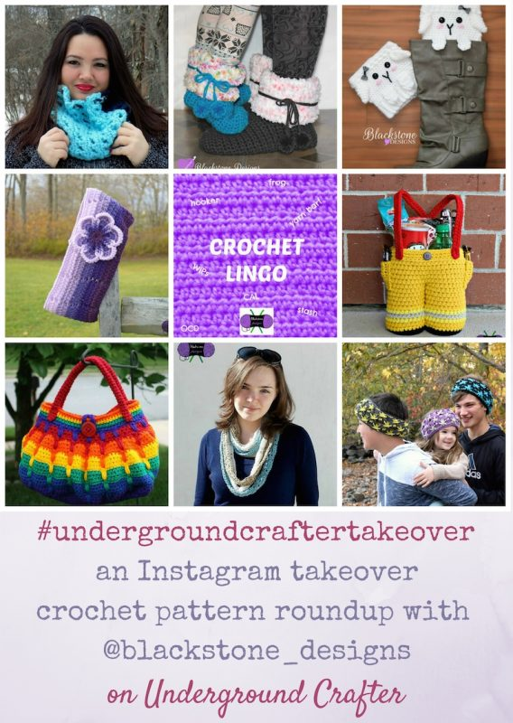 Roundup: 7 crochet patterns (including several freebies) by Sonya Blackstone from Blackstone Designs on Underground Crafter