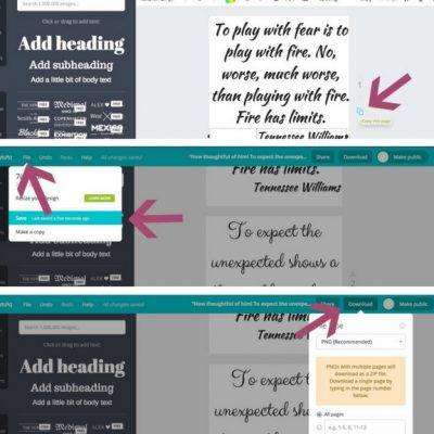 Cricut Basics: How To Upload Images in Design Space (and Make Your Own Literary Geek/Quote T-Shirt) tutorial by Underground Crafter