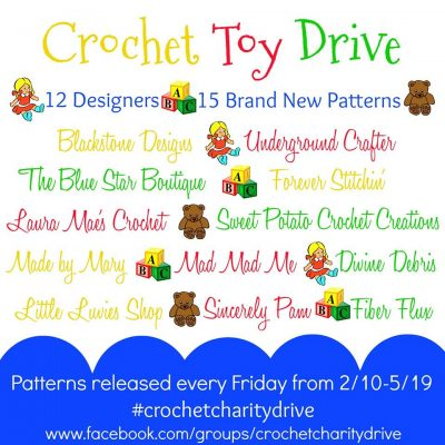 Crochet Toy Drive via Underground Crafter