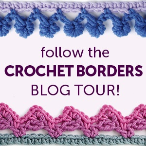 Every Which Way Crochet Borders: 139 Patterns for Customized Edgings by Edie Eckman | Book review, excerpted pattern (Border #32), and giveaway on Underground Crafter