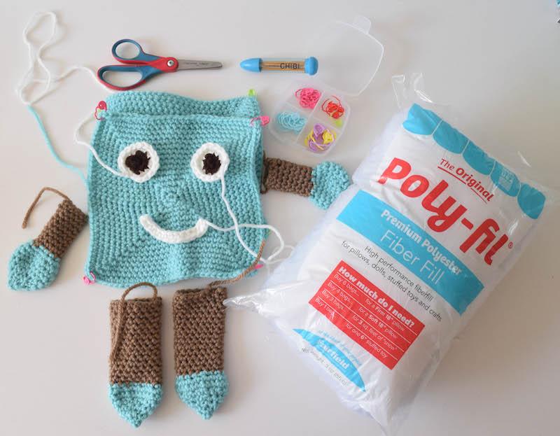Crochet pattern: My Buddy Friend | Underground Crafter