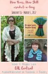 New Year, New Skill Crochet-a-Long with CAL Central - Week 5: Bruges Lace featuring free crochet patterns by ABC Knitting Patterns, Stitches 'n' Scraps, and Underground Crafter