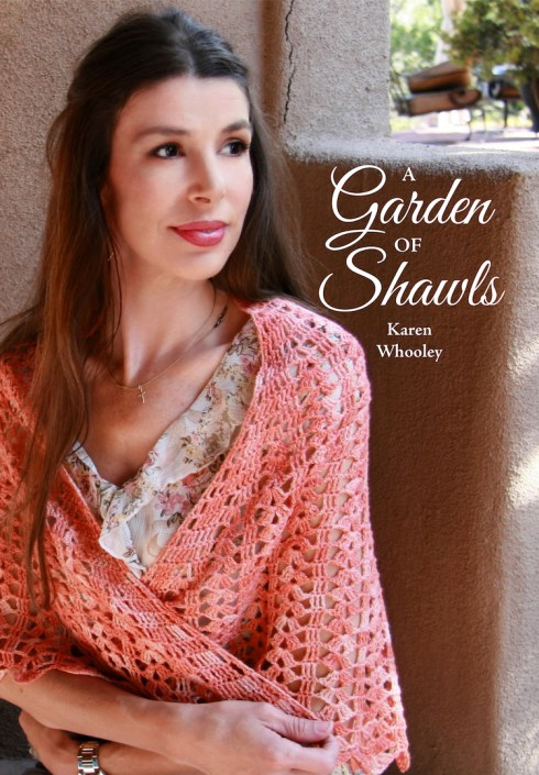 A Garden of Shawls by Karen Whooley   Crochet book review and giveaway on Underground Crafter