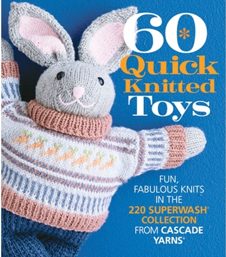 60 Quick Knitted Toys book review and giveaway on Underground Crafter