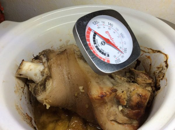 Easy Slow Cooker Pernil (Roasted Pork Shoulder) recipe by Underground Crafter