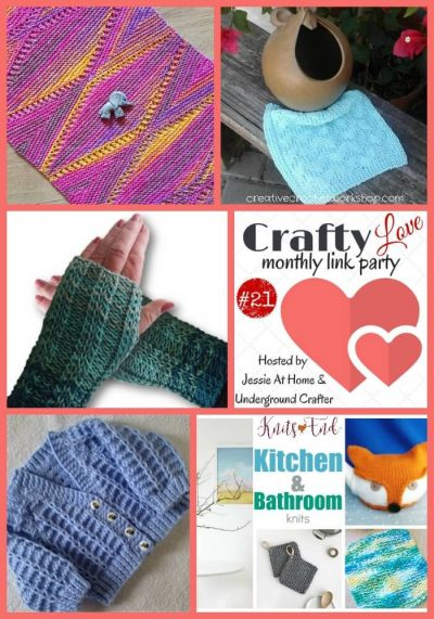 Crafty Love Link Party #21 (May, 2017) with Jessie At Home and Underground Crafter | Share your latest projects, WIPs, tips, tutorials, and patterns through May 25, 2017. All crafts welcome! Check out the most clicked on posts from last month for free patterns and inspiration!