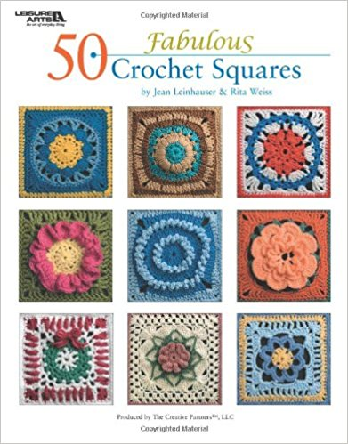Book review: 50 Fabulous Crochet Squares by Jean Leinhauser and Rita Weiss via Underground Crafter | Read my review of this collection of patterns by 4 designers. Enter through July 4, 2017 for your chance to win a copy.