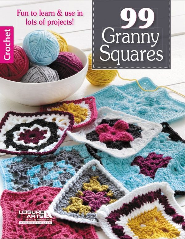 Book review: 99 Granny Squares via Underground Crafter | Read my review of this collection of patterns by 25 designers. Enter through July 4, 2017 for your chance to win a copy.