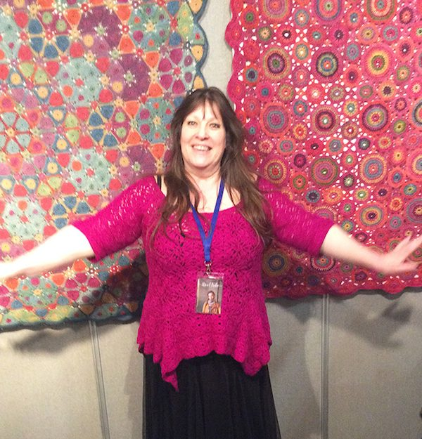 9 Colorful Crochet Blanket Patterns by Amanda Perkins - Interview with roundup by Underground Crafter