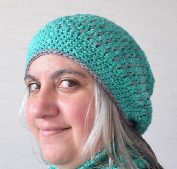In the Neighborhood Slouchy Hat, free crochet pattern by Underground Crafter in Neighborhood Fiber Co. Studio Worsted