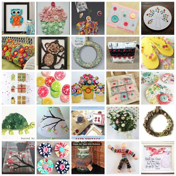 60+ Free Craft Tutorials for Button Lovers via Underground Crafter, including 20+ crochet patterns, 5 knitting patterns, 6 jewelry tutorials, and 30+ sewing, foam, paper, and mixed media tutorials