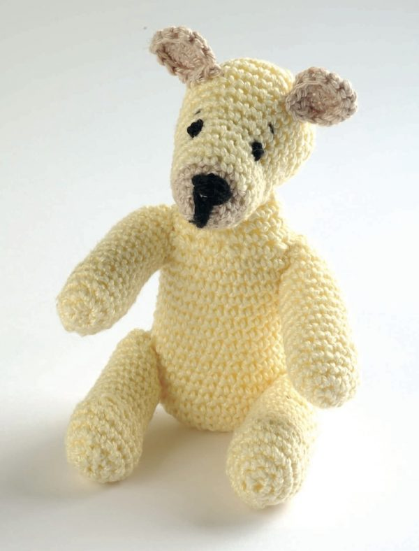 Free crochet pattern: Teddy Bear (also known as the Basic Bear) by Val Pierce via Underground Crafter