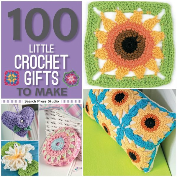 Free crochet pattern: Sunflower motif by May Corfield via Underground Crafter