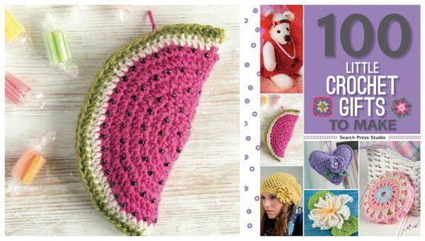 Free crochet pattern: Watermelon purse by Anna Nikipirowicz via Underground Crafter