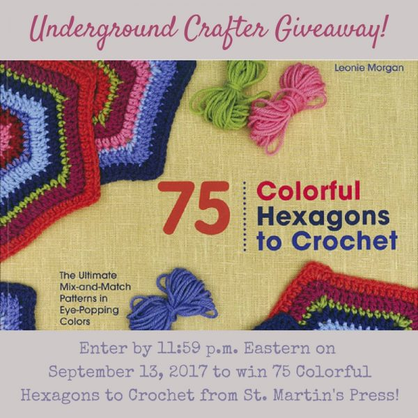 Book reviews: 75 Colorful Hexagons to Crochet and 150 All-Time Favorite Crochet Blocks via Underground Crafter