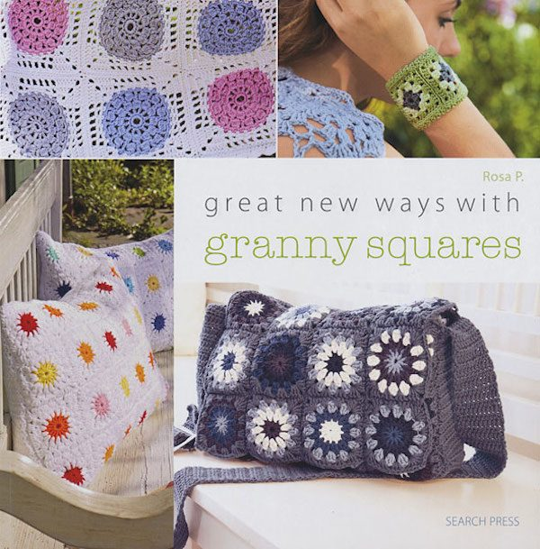 Book Review: Great New Ways with Granny Squares by Rosa P. via Underground Crafter with excerpted pattern: Throw