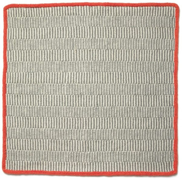 Railroad Tracks free knitting pattern by Cheryl Lavenhar via Underground Crafter