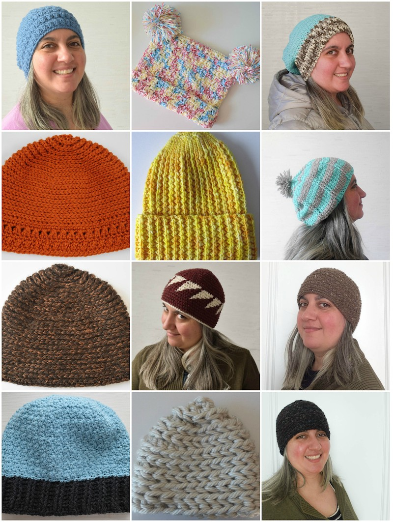 30 Free Crochet and Knitting Patterns for Preemie Hats