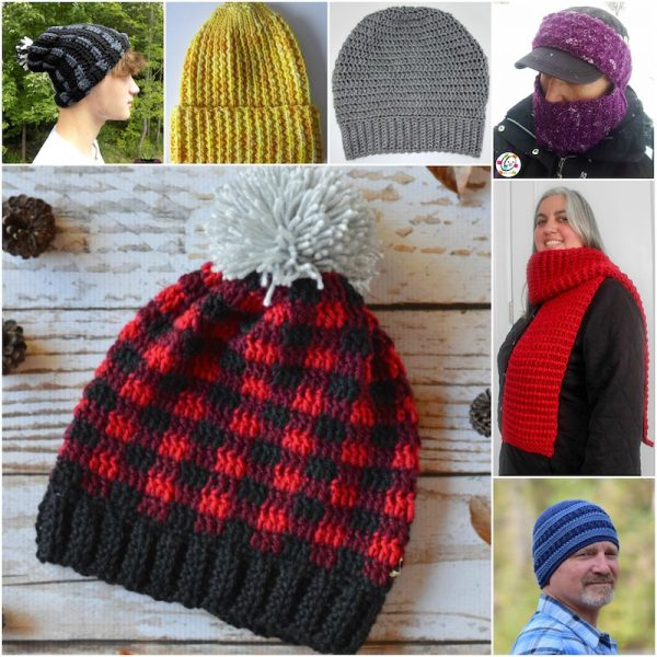 40 Handmade Gift Ideas for Men via Underground Crafter | Find a great project for a guy on your handmade holiday gift list including bags, scarves, and hats for men, featuring 2 sewing tutorials, 20 crochet patterns, and 18 knitting patterns - all free!