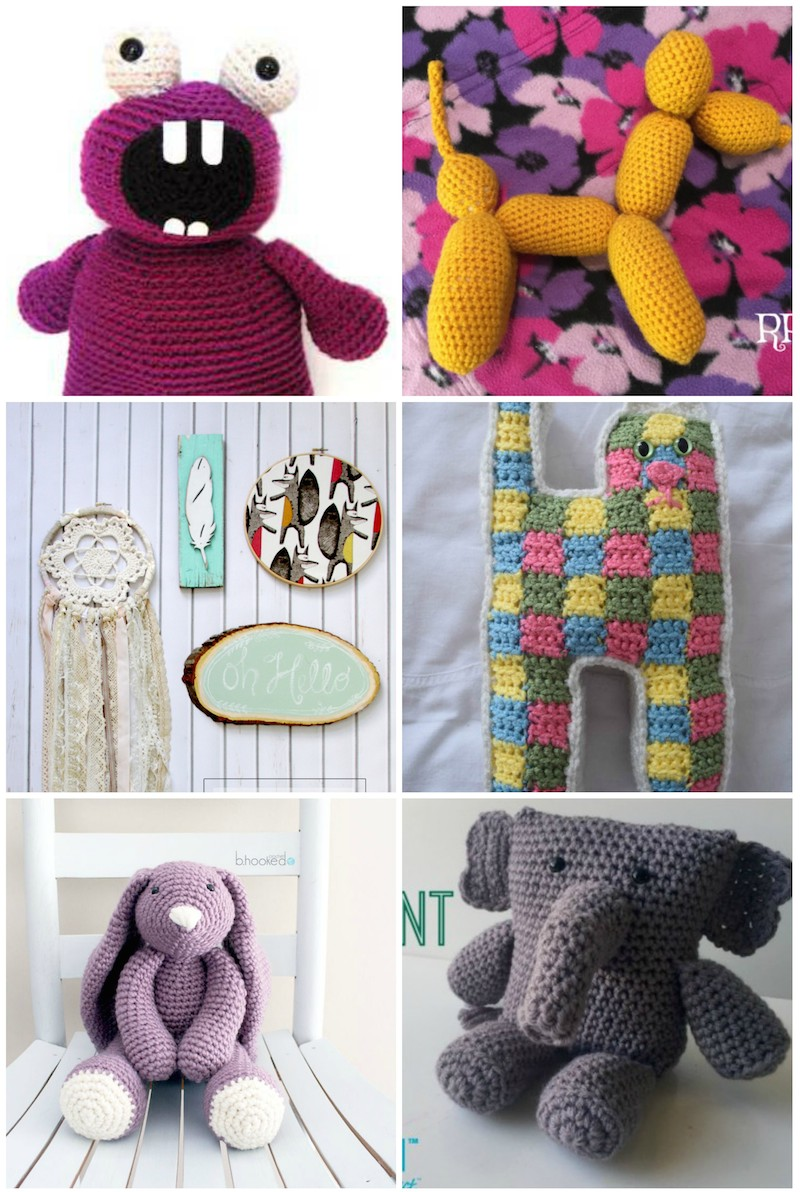 60 Handmade Gift Ideas for Kids via Underground Crafter - includes free crochet, knitting, and sewing patterns and no-sew and crafty tutorials