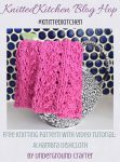 Alhambra Dishcloth, free knitting pattern in Lion Brand 24/7 yarn by Underground Crafter | This textured dishcloth reminded me of the beautiful Alhambra palace in Granada, Spain.