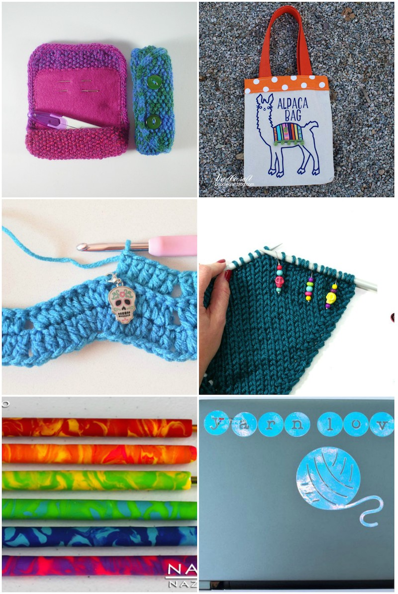 30+ Handmade Gifts for Crafters via Underground Crafter | Make a handmade gift you know will be appreciated. Choose from gift ideas for sewists, quilters, crocheters, knitters, and other crafters and make projects using yarn, fabric, clay, and more!