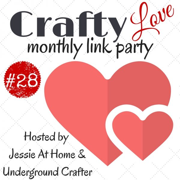 Crafty Love Link Party 28 (December, 2017): Share your latest crafty projects, tips, tutorials, WIPs, and patterns through December 28, 2017 and check out the five featured projects from last month, including free crochet patterns by The Purple Poncho, Posh Pooch Designs, Nana's Crafty Home, and Maria's Blue Crayon.