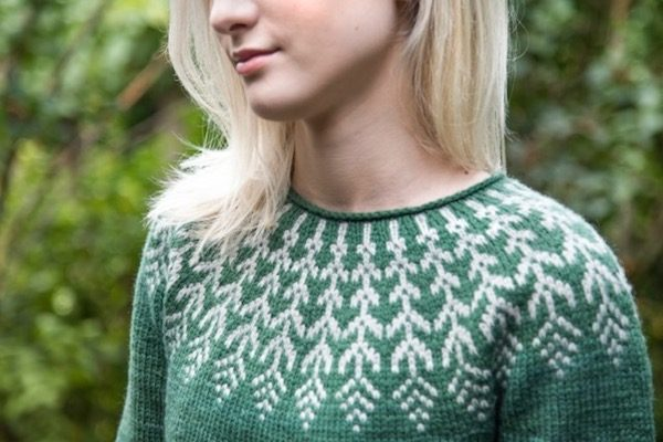 Do You Know Where Your Yarn Comes From? Guest Post by Andrea Hungerford from By Hand Serial on Underground Crafter | Fern and Feather knitting pattern