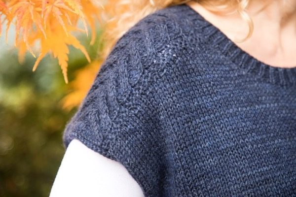 Do You Know Where Your Yarn Comes From? Guest Post by Andrea Hungerford from By Hand Serial on Underground Crafter | Leland Blue Popover knitting pattern