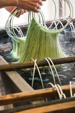 Do You Know Where Your Yarn Comes From? Guest Post by Andrea Hungerford from By Hand Serial on Underground Crafter | Swans Island Yarn Company