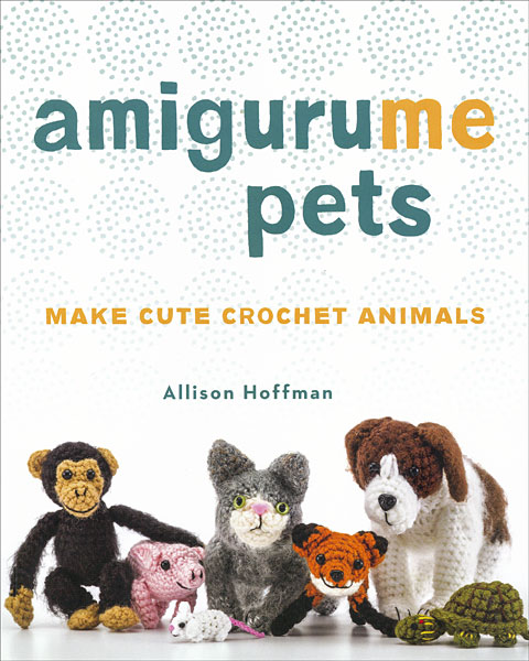 AmiguruME Pets by Allison Hoffman cover | Book review via Underground Crafter