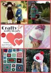 Collage of crochet designs | Crafty Love Link Party 31 (March, 2018) with Jessie At Home and Underground Crafter