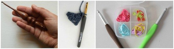 Comfort Crochet Hooks (Furls, Tulip Etimo, and Clover Amour) - CAL Central 2018 Softie Crochet Along via Underground Crafter