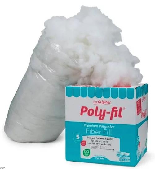 Fairfield Poly-Fil 5 lb. box - CAL Central 2018 Softie Crochet Along via Underground Crafter