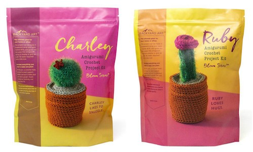 Global Backyard Industries Crochet Cactus Kits - CAL Central 2018 Softie Crochet Along via Underground Crafter