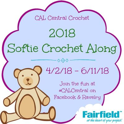 CAL Central 2018 Softie Crochet Along via Underground Crafter